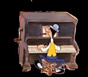 Transparant-Piano
